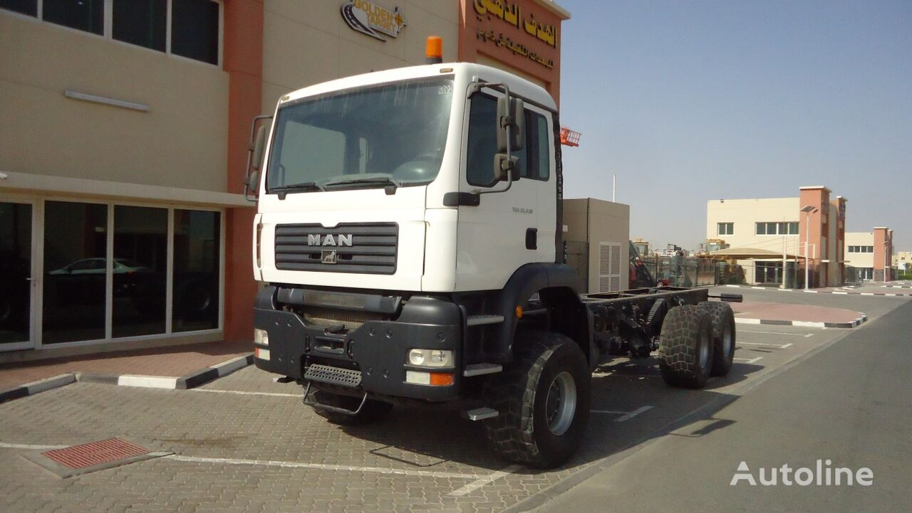 MAN MAN TGA 33.430 6x6 Chassis 2007 chassis truck