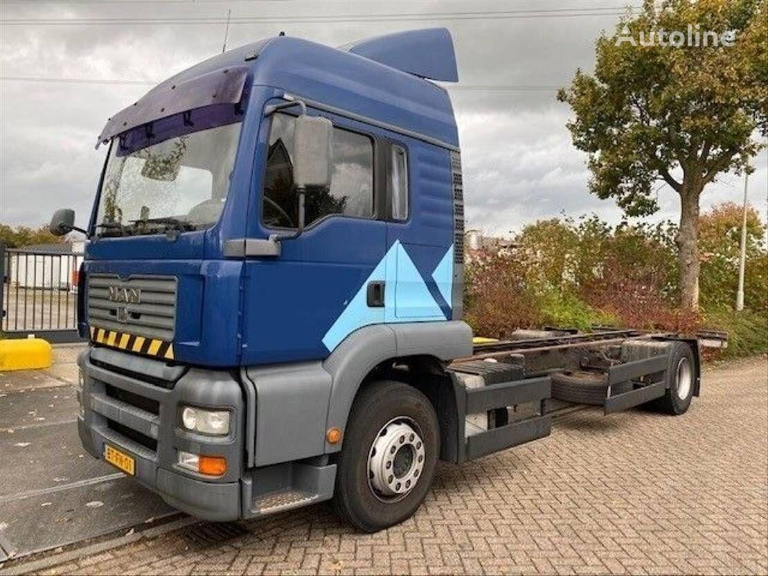 MAN TGA 18.360 EURO 3 MANUAL / HANDGESCHAKELD chassis truck