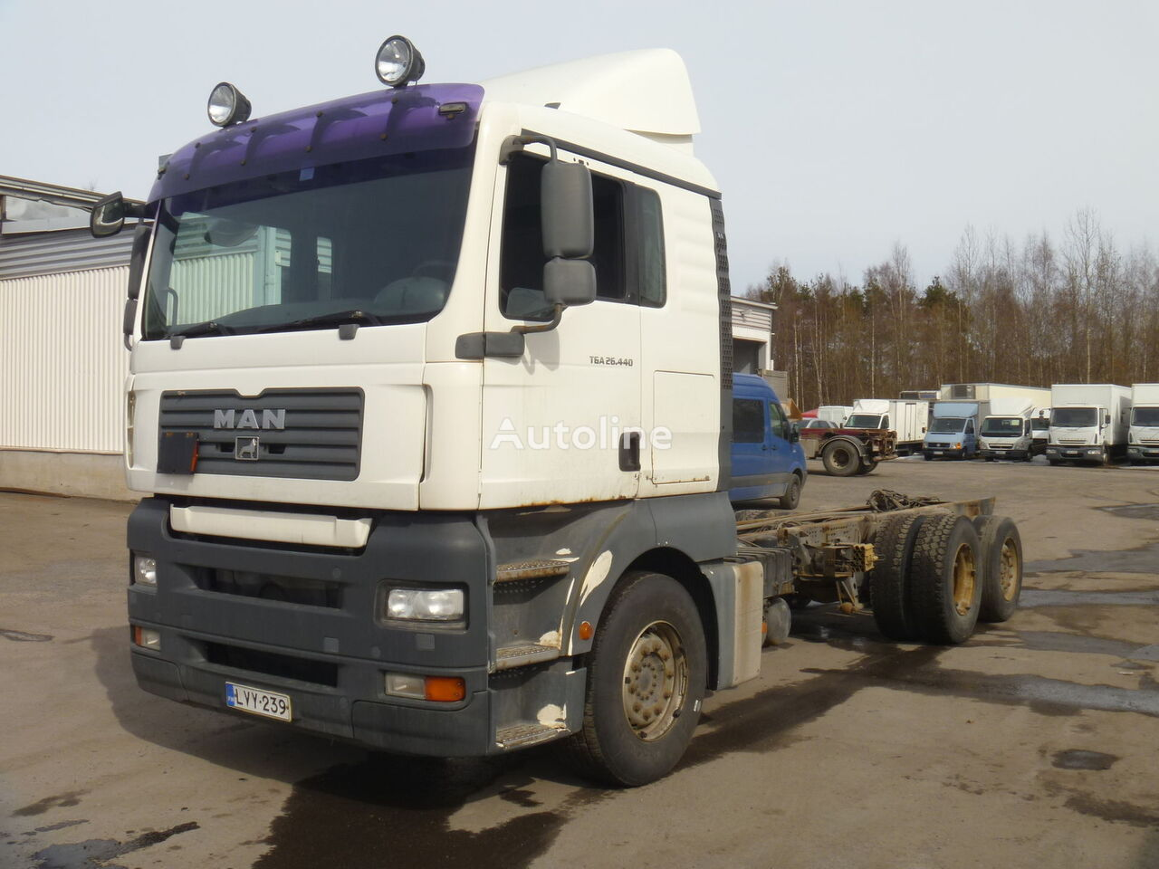 MAN TGA 26.440 6X2 chassis truck