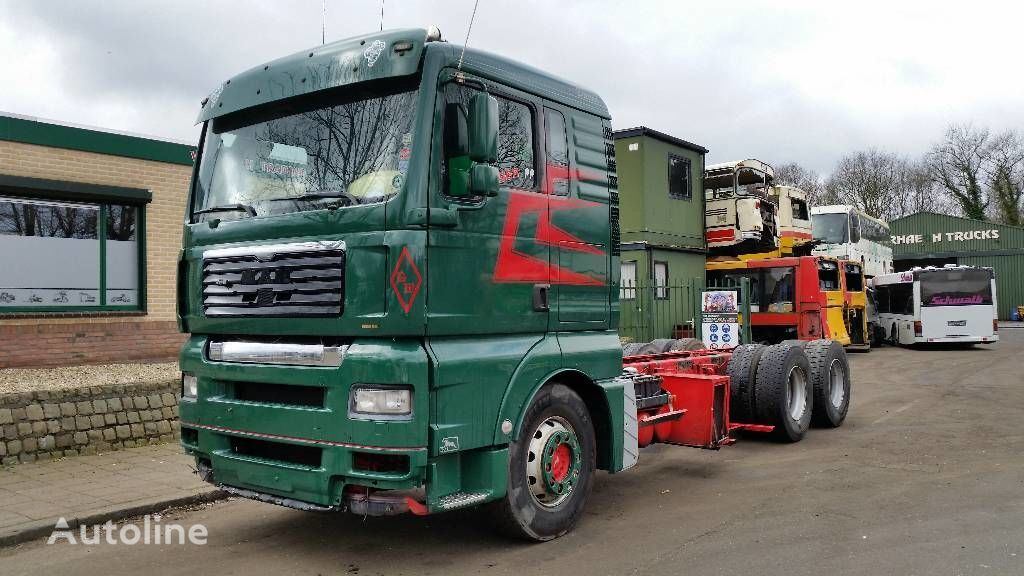 MAN TGA 28.480 chassis truck