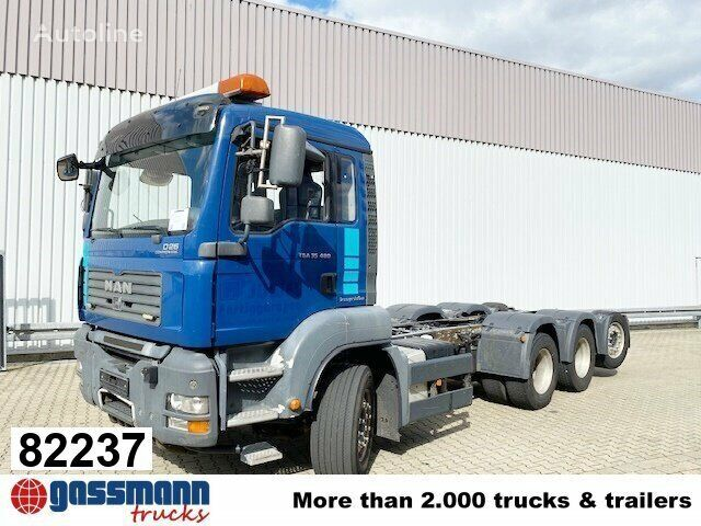 MAN TGA 35.480  chassis truck