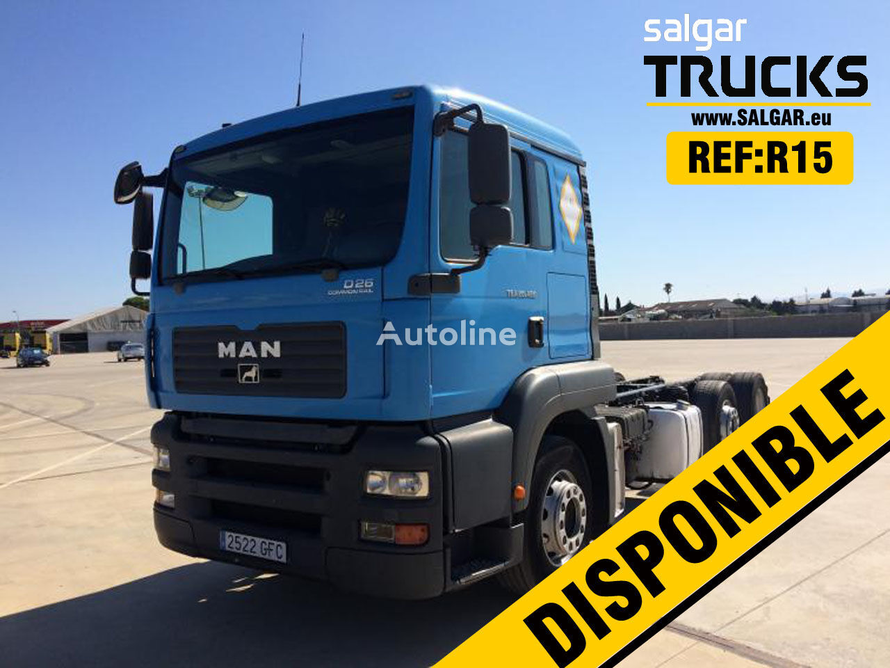 MAN TGS 26.480 chassis truck