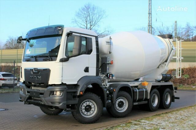 new MAN TGS 41.430 8x4 /Euro6d TG3 NEUES MODEL EM 12m³ chassis truck