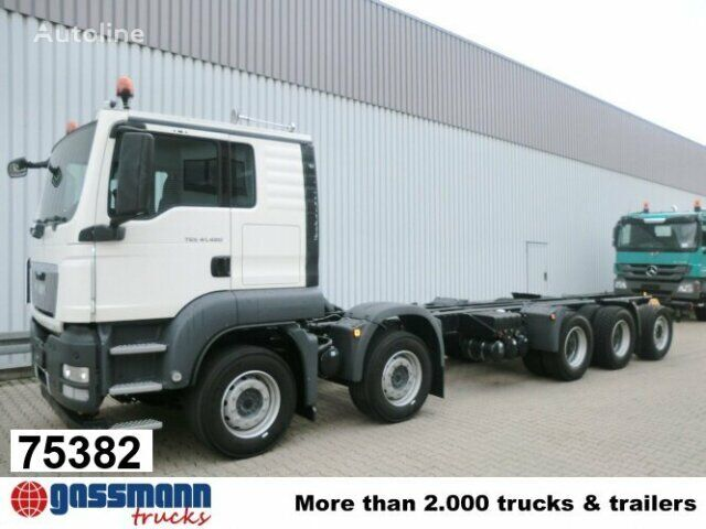 new MAN TGS / 50.480BB 10x4 / Autom./Standheizung chassis truck