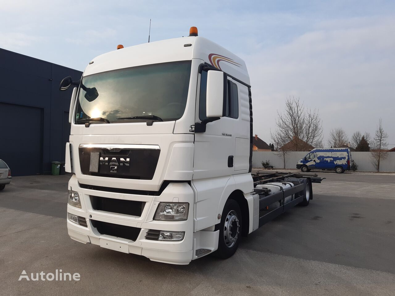 MAN TGX 18.440LL JUMBO BDF KÉZI VÁLTÓ chassis truck