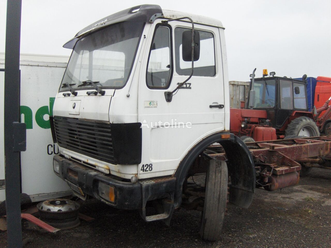 MERCEDES-BENZ 1217 EcoPower chassis trucks for sale, chassis cab from  Poland, buy chassis truck, GF8745