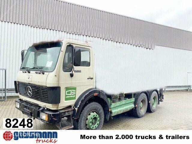 MERCEDES-BENZ 2635 6x4, Dachluke chassis truck