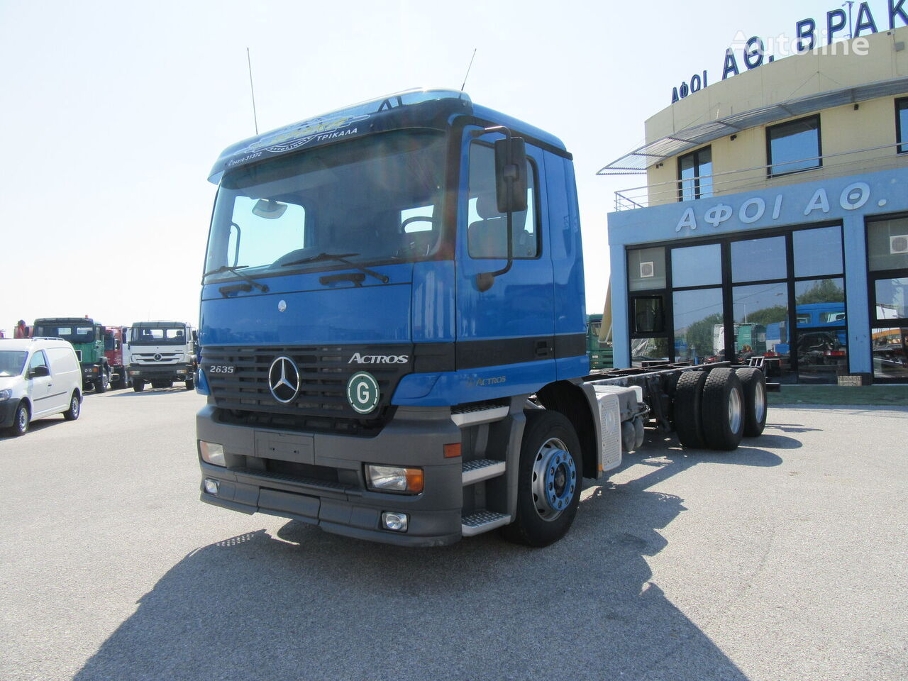 MERCEDES-BENZ 2635 L 6X4 ACTROS chassis truck
