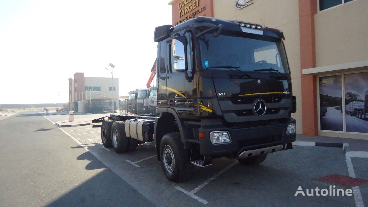 MERCEDES-BENZ 2655  chassis truck