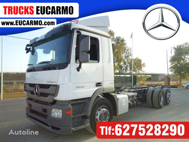 MERCEDES-BENZ ACTROS 25 32 chassis truck