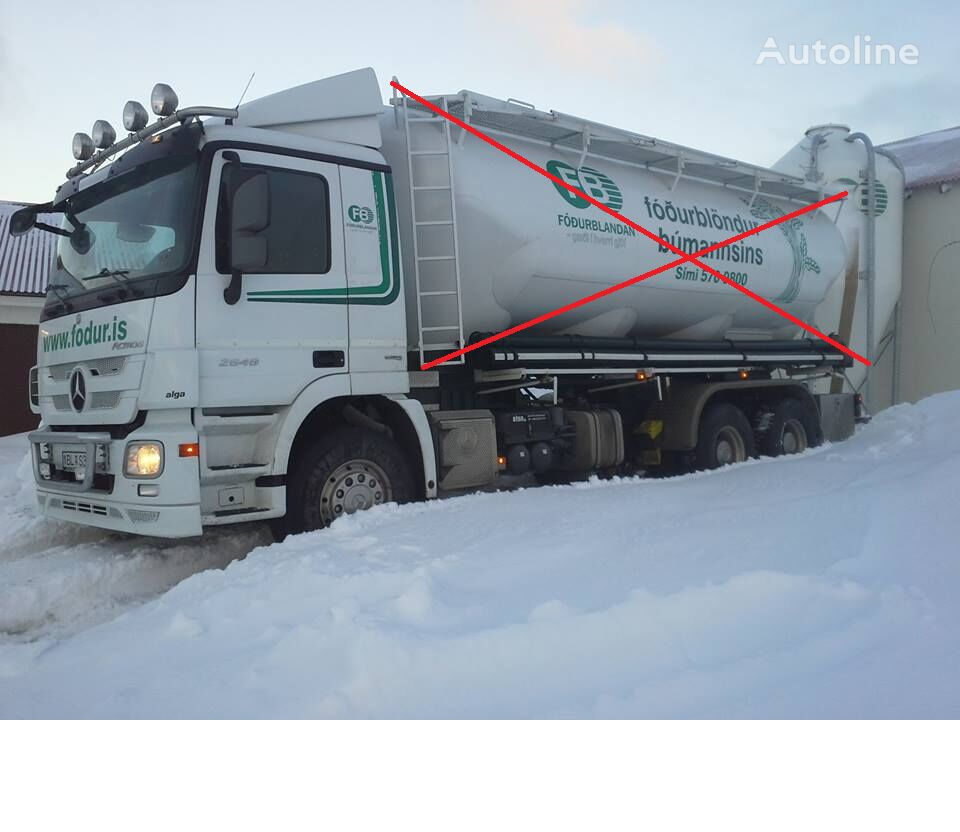MERCEDES-BENZ Actros 2648 chassis truck