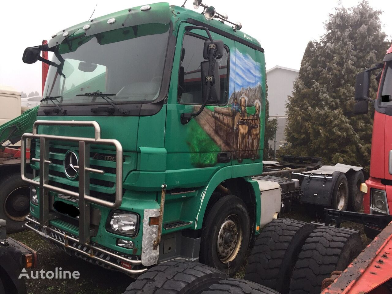 MERCEDES-BENZ Actros 2648 6X4 Resor- Spring , Retader chassis truck