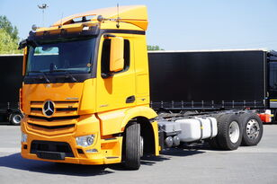 MERCEDES-BENZ Antos 2540, E6, 6x2, chassis 6.9m, steer / lift axle , etarder,  chassis truck