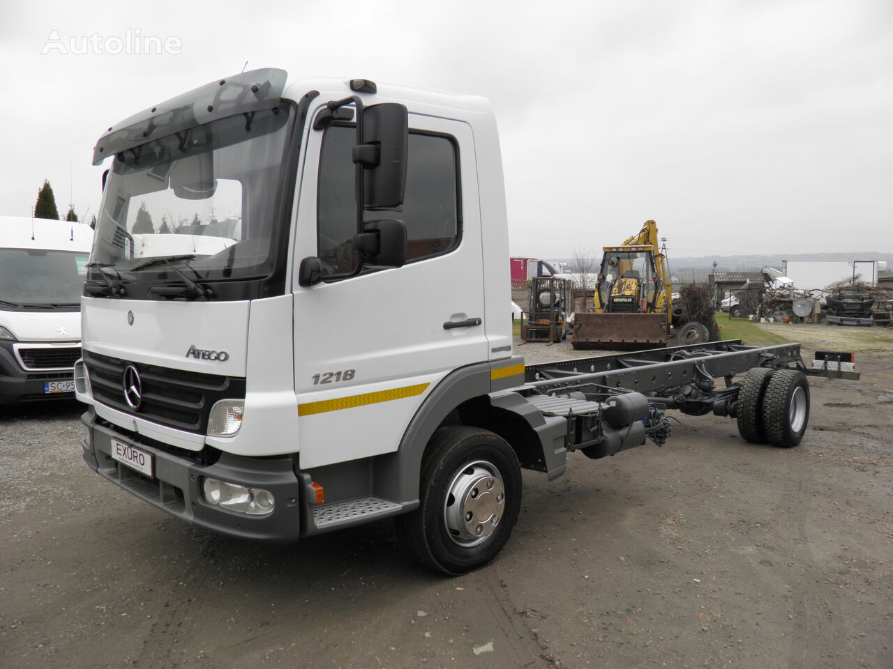 MERCEDES-BENZ Atego 1218  chassis truck