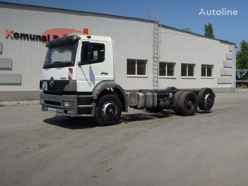 MERCEDES-BENZ Atego chassis frame to building 6m chassis truck