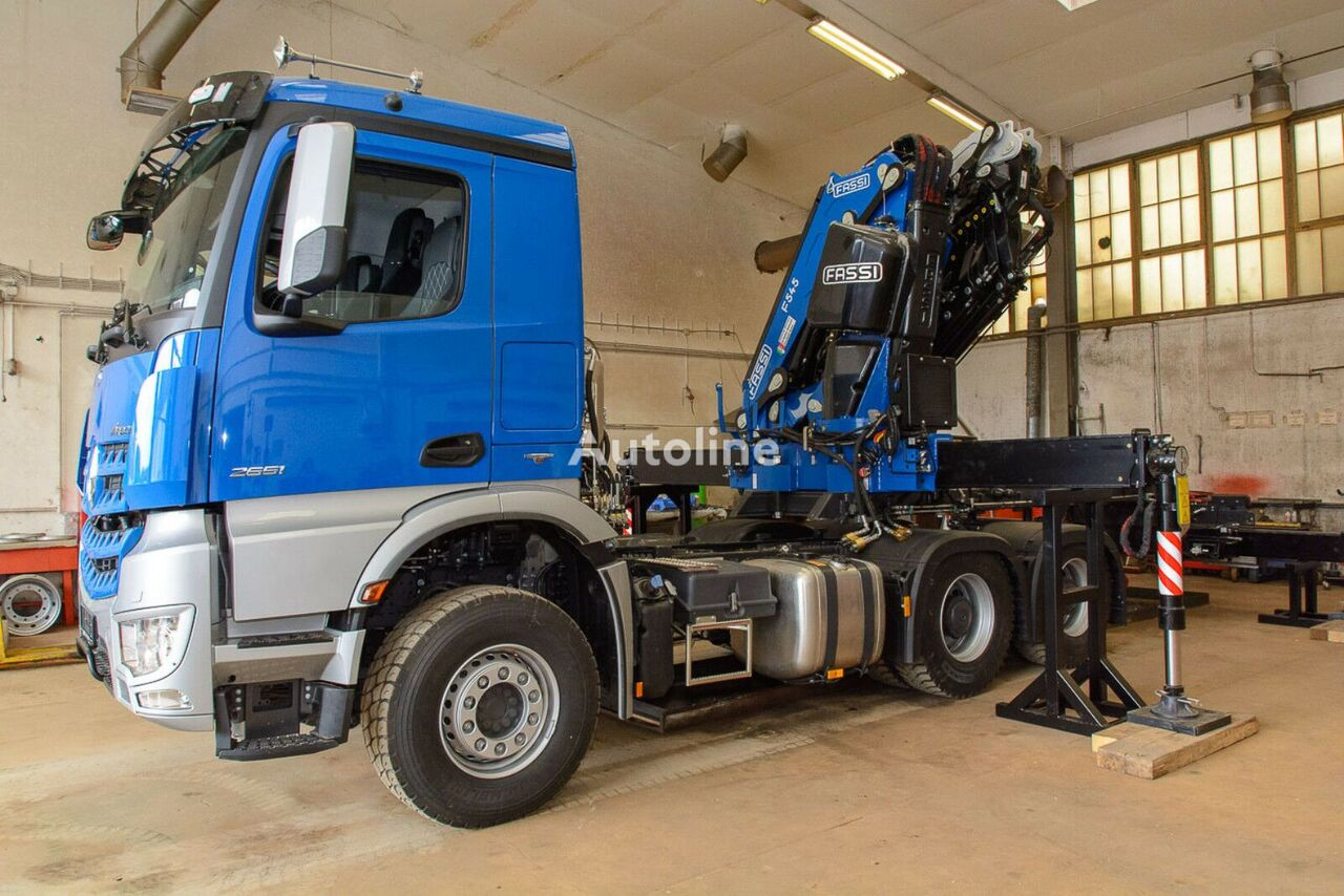 new MERCEDES-BENZ FASSI F545L426 chassis truck