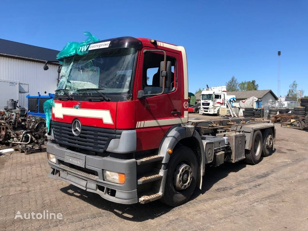 MERCEDES-BENZ MD3060P AUTOMAT GEARKASSE 723626 chassis truck for parts