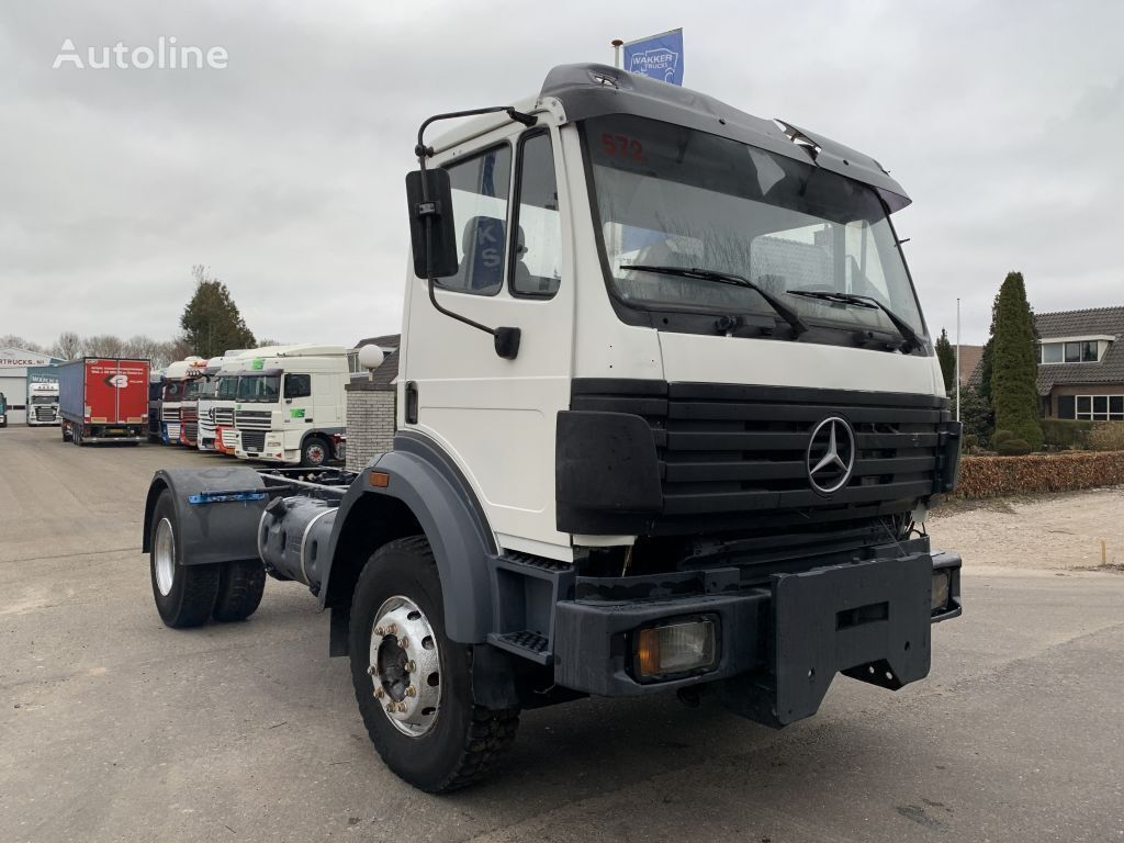 MERCEDES-BENZ SK 1824 MANUAL STEEL SUSPENSION BIG AXLE chassis truck