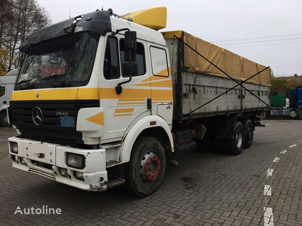 MERCEDES-BENZ SK 2544 chassis truck