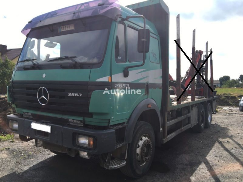 MERCEDES-BENZ SK 2653 2644 2638   chassis truck