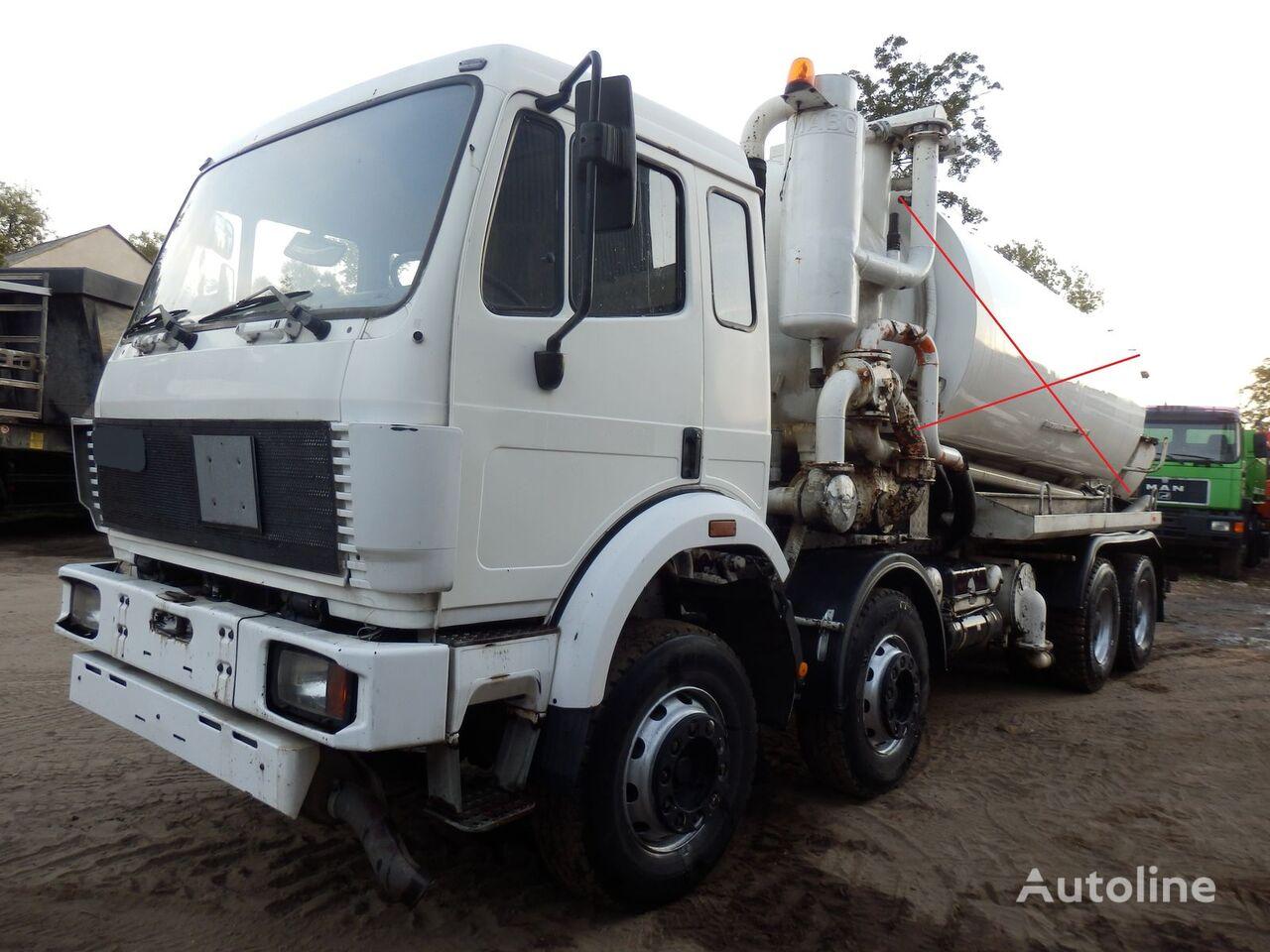 MERCEDES-BENZ SK 3229 V8 8x4 FULL SPRING chassis truck
