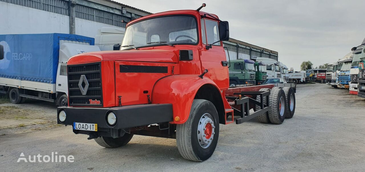 RENAULT GBH chassis truck