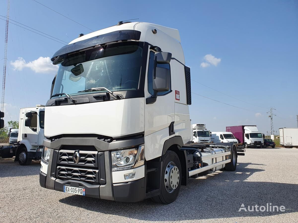 RENAULT Gamme T 430 4X2 PORTE CONTAINER chassis truck