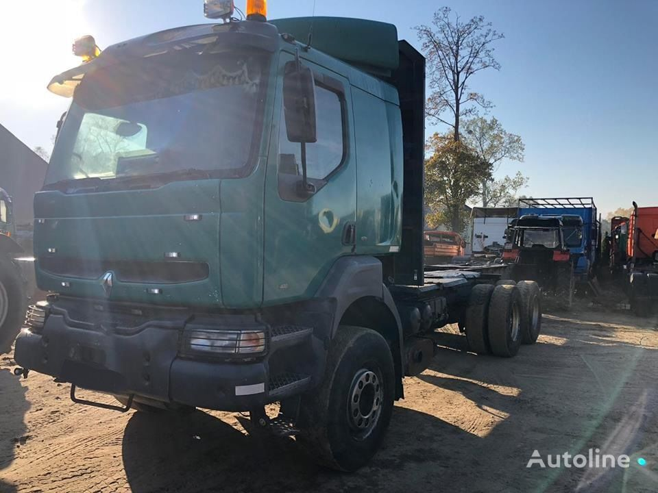RENAULT KERAX 400 6X4 FULL SPRING chassis truck