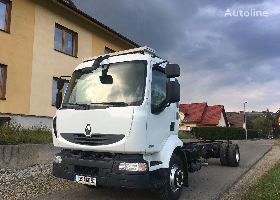 RENAULT MIDLUM 220 DXI RAMA DO ZABUDOWY chassis truck
