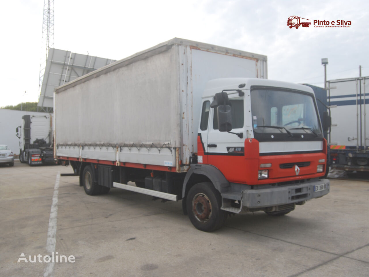 RENAULT Midliner 210 chassis truck