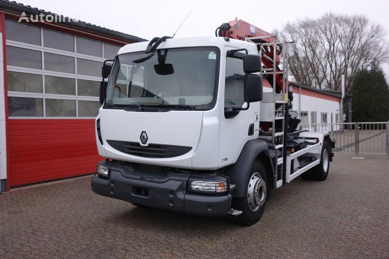 RENAULT  Midlum 270Dxi Kipper Kran HMF 635 chassis truck