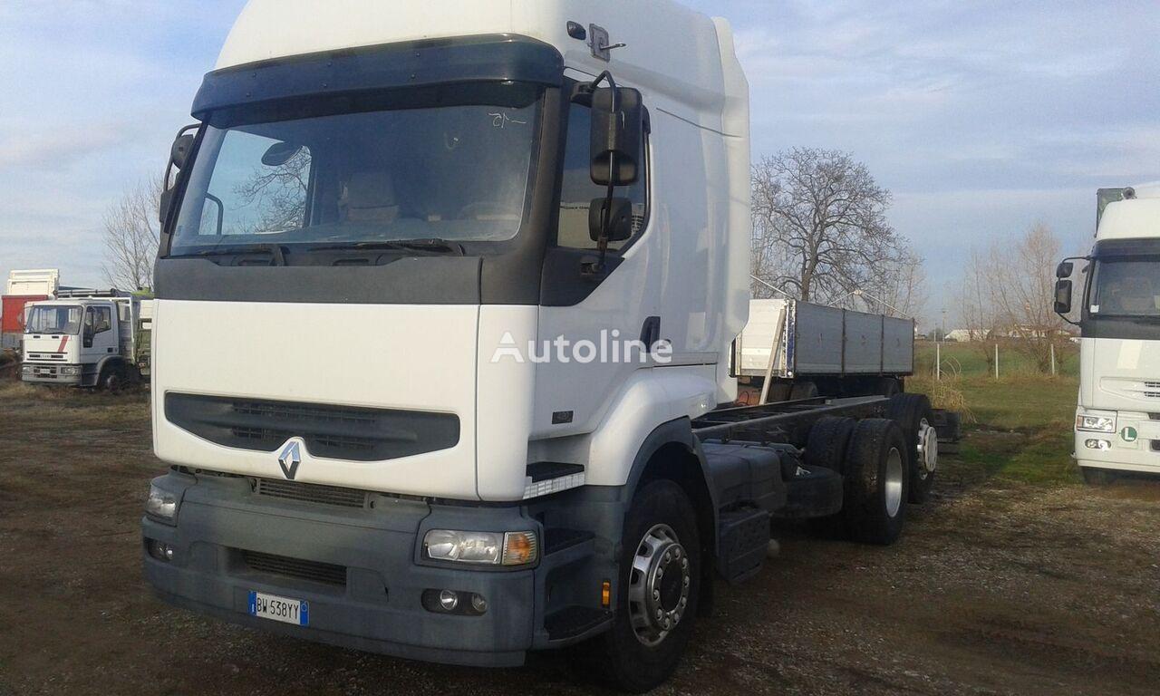 RENAULT PREMIUM 420 DCI chassis truck