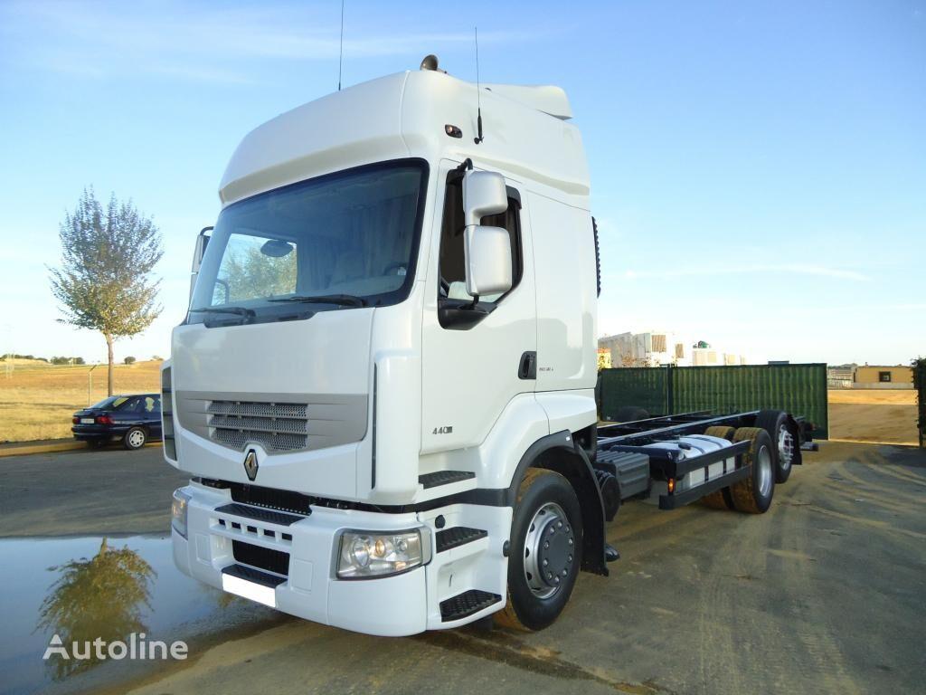 RENAULT PREMIUM 440 DXI chassis truck
