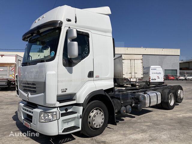 RENAULT PREMIUM 450.25 6x2 S GV chassis truck