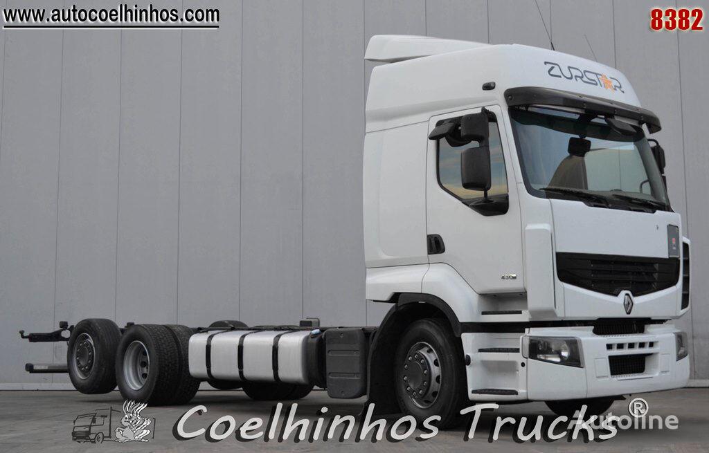 RENAULT Premium 430DXi chassis truck