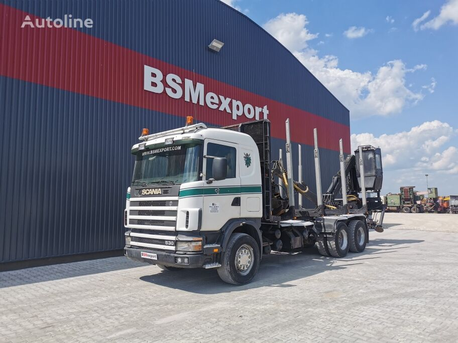 SCANIA 12.400 chassis truck