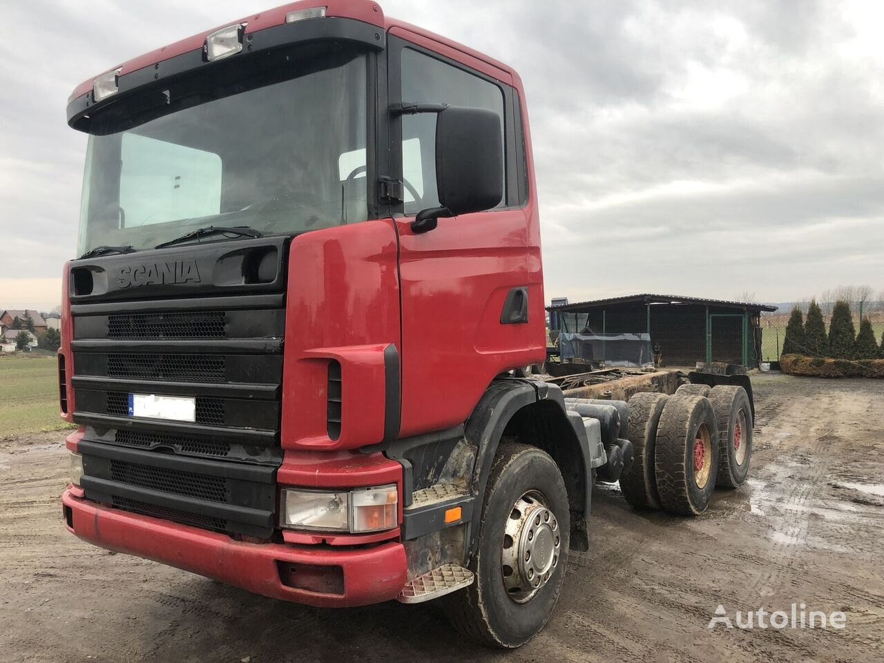 SCANIA 124 400 6x4 chassis truck