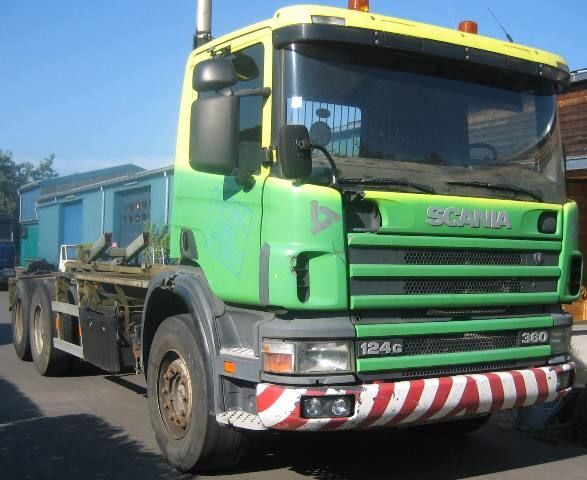 SCANIA 124G360 chassis truck
