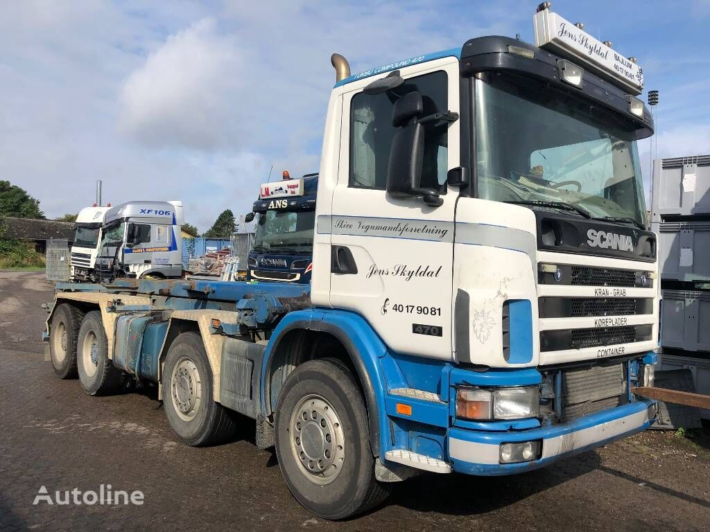 SCANIA DT1202 / 470 HK - EURO 3 - HPI chassis truck