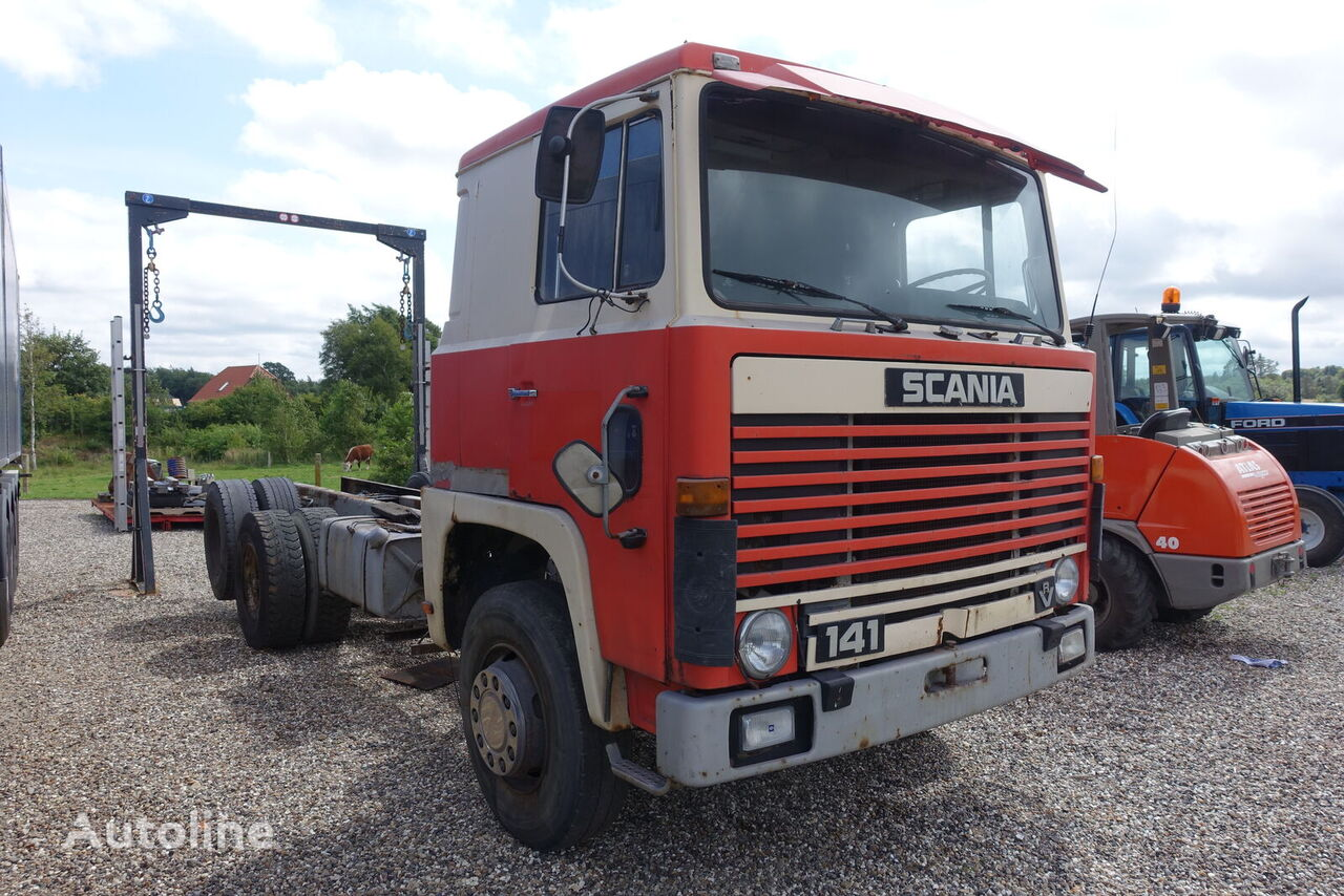 SCANIA LBS141  chassis truck