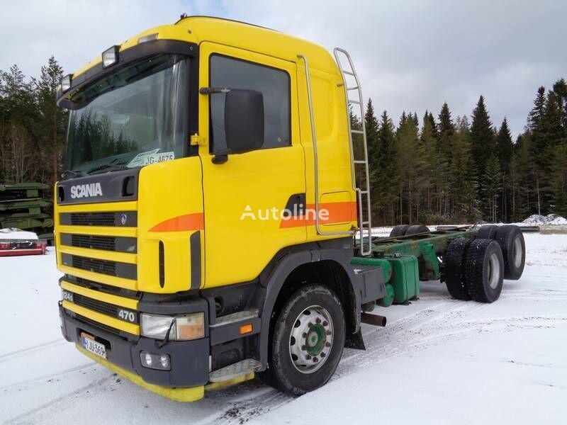 SCANIA R-124 G chassis truck