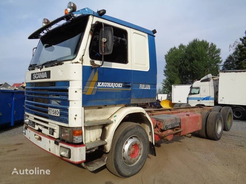 SCANIA R 142 chassis truck