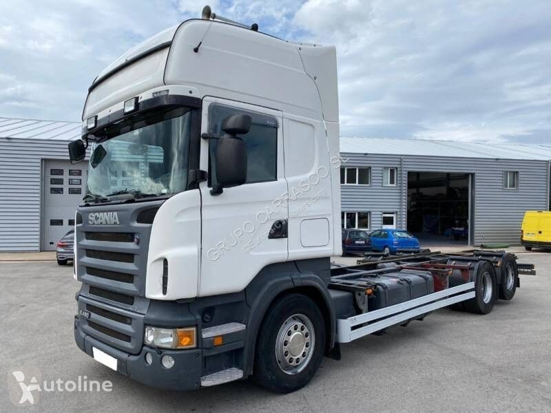 SCANIA R 480 chassis truck