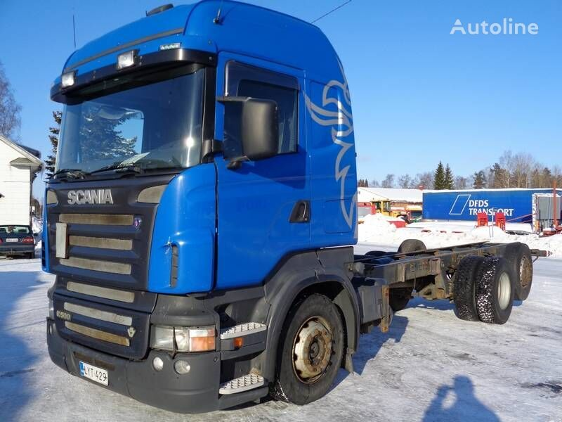 SCANIA R 500 chassis truck