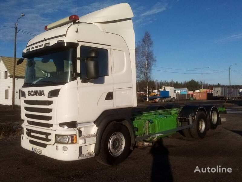 SCANIA R 520 chassis truck