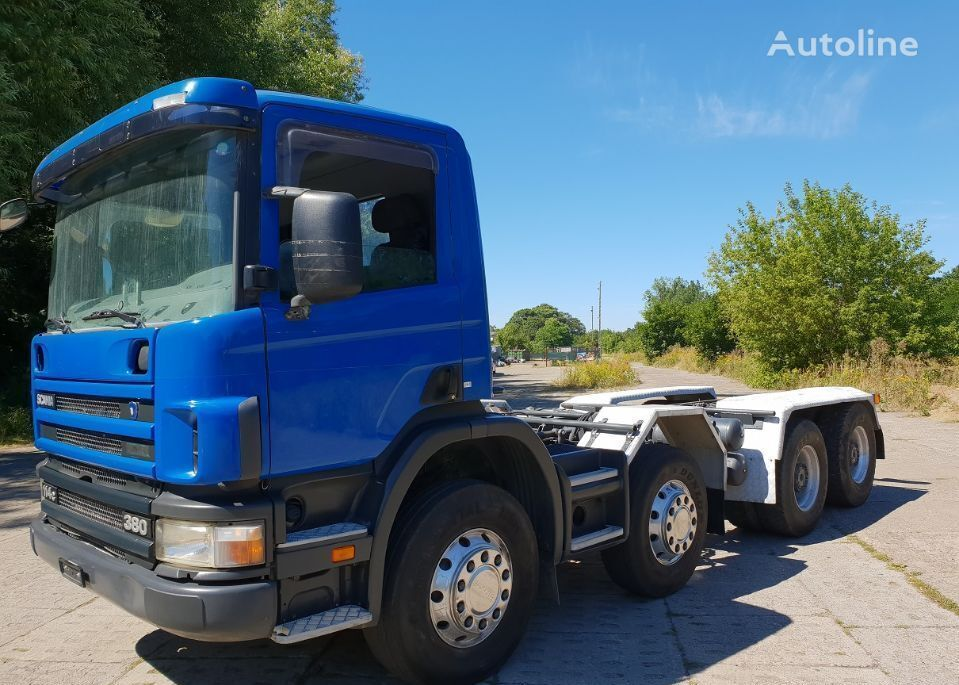 SCANIA R124 chassis truck