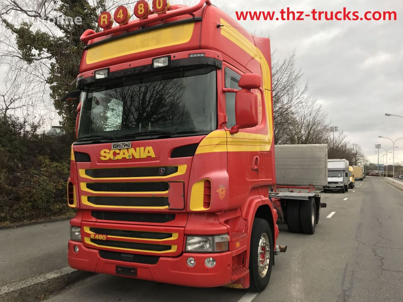SCANIA R480 chassis truck