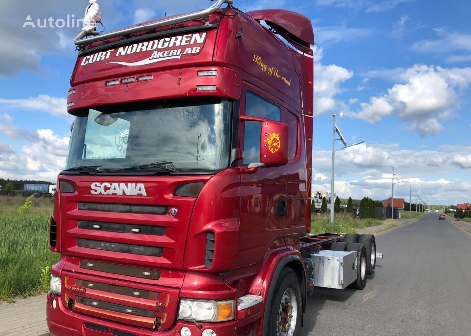 SCANIA R580, 6X2 chassis truck