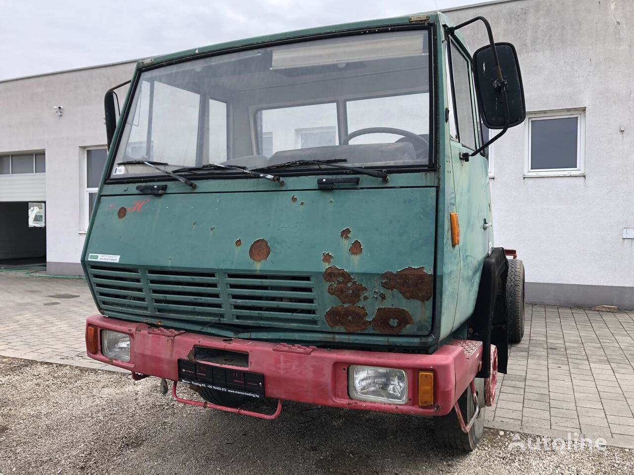 STEYR 891 chassis truck