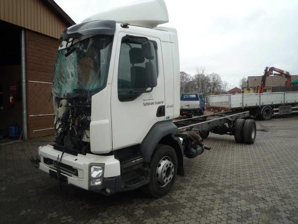 VOLVO D7F - 290 HP - EURO 5 chassis truck for parts